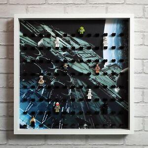 Black Star Wars Fits 104 Minifigs Lego Minifigure Display