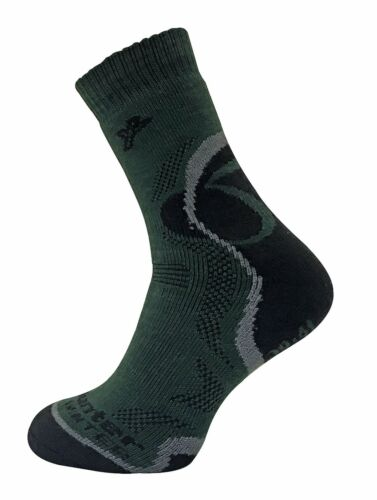 Mens Thick Cushioned Merino Wool Thermal Hiking Hunting Boot Socks Dr Hunter