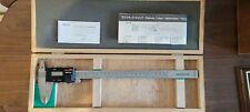 Mitutoyo 12 Digital Caliper In Wooden Vintage Box 500 353 Digimatic New Cd 12 P