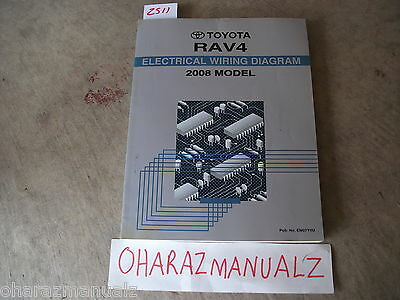 2008 Toyota RAV4 Electrical Wiring Diagram Manual OEM | eBay