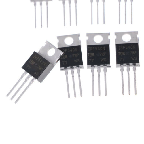 10 Stk Irf540N Irf540 To-220 N-Channel 33A 100V Power Mosfet Set CP