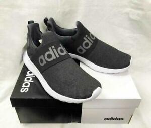 Details about Adidas Lite Racer Adapt Cloudfoam Black/Grey Slip On Mens  Trainers Shoes UK 7-12