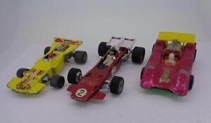 Vintage-Diecast-Dinky-Ferrari-312B-amp-Matchbox-velocidad-Reyes-Marauder-Thunderclap