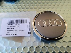 OEM by AUDI Quattro Alloy Wheel Center Cap 4B0601170A 7ZJ 🇺🇸 Seller Each! 69mm