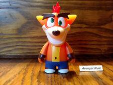 Crash Bandicoot Peluche Crazy Eyes Kidrobot 20 cm