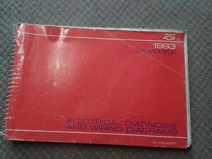 1993 CHEVY TRUCK CK MODELS DIAGRAMS ELECTRICAL    WIRING    OEM