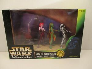 Star Wars Power of the Force JABBA THE HUTTS DANCERS Figure Set 1998 Kenner