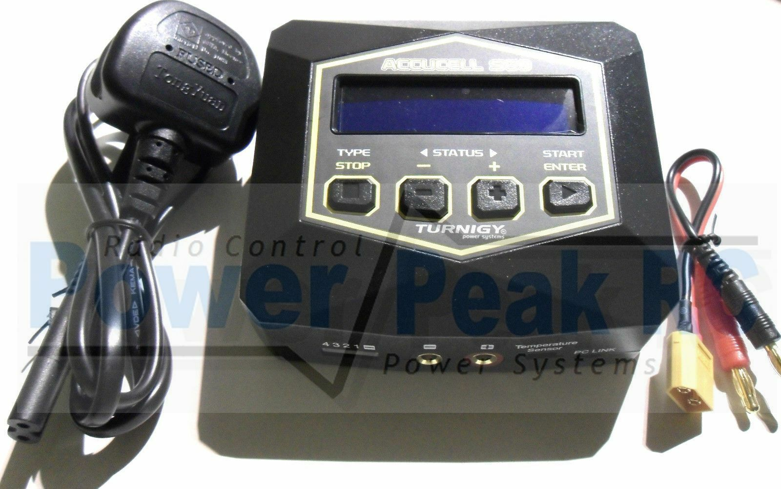 Turnigy Accucel S60 LiPo NiMH Battery Balance Charger 60w 6A 2s - 4s UK EU Plug