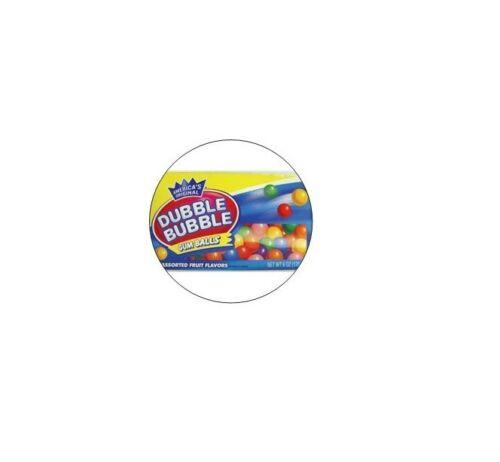 """24 /""""Double Bubble Gum/"""" Stickers 1.5/"""" diameter Vending Machine Stickers"""