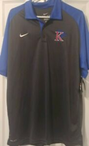 NWT-Nike-Dri-Fit-Mens-Polo-Shirt-King-College-Tornadoes-Size-Large-L-New