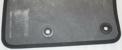 Fiat Genuino 500X 2014-2019 Delantero Tapetes Terciopelo alfombra Mat Set Negro #60