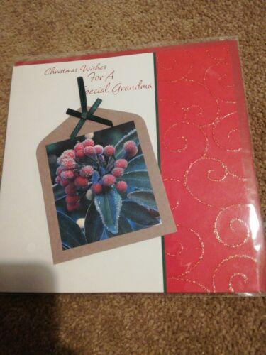 Nan Carte de Noël Entièrement neuf sous emballage
