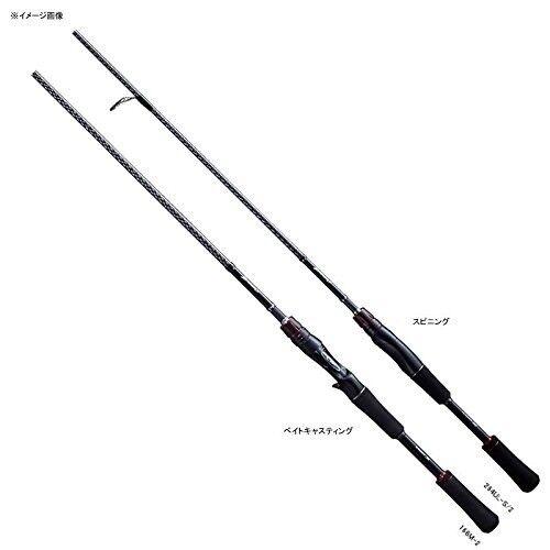 New Shimano ZODIAS Ultra Light Bass Fishing 264ULS2 Spinning Rod Japan Import