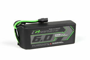 Trempé Rc Turnigy Graphene Panther 6000mah 6s 75c Battery Pack W/xt90