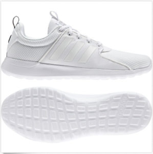 2554b2a07 Adidas Neo Mens Training Shoes Cloudfoam Lite Racer Running White ...