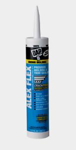 Details about New!! ALEX FLEX Acrylic Latex Interior Molding & Trim WHITE  Caulk 10 1 oz  18542