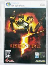 ** Resident Evil 5 ** PC DVD GAME ** BioHazard V Brand new Sealed **