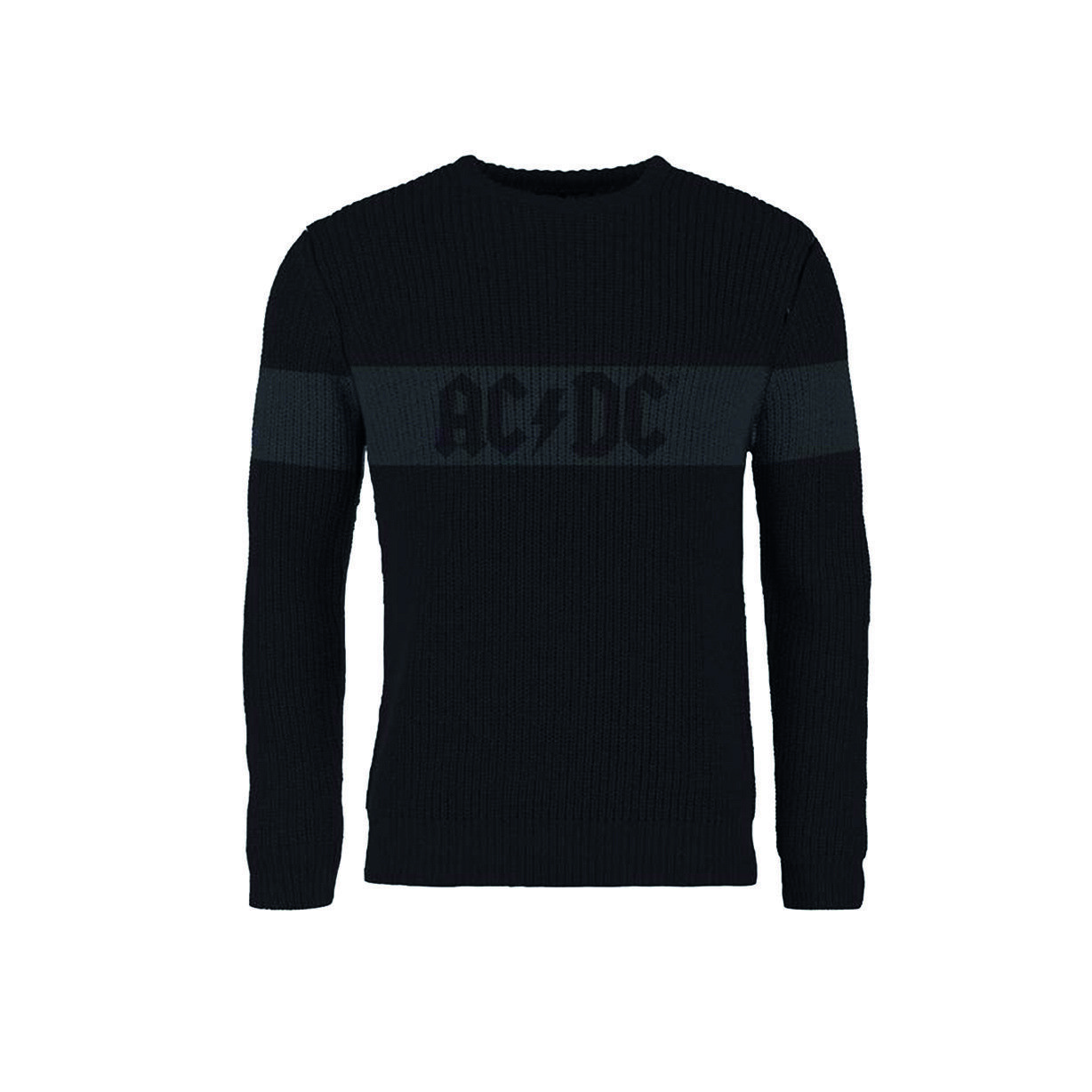 Ultrakult officiel mailles ACDC Pull Logo Pull ACDC Ras Du Cou 8ae471