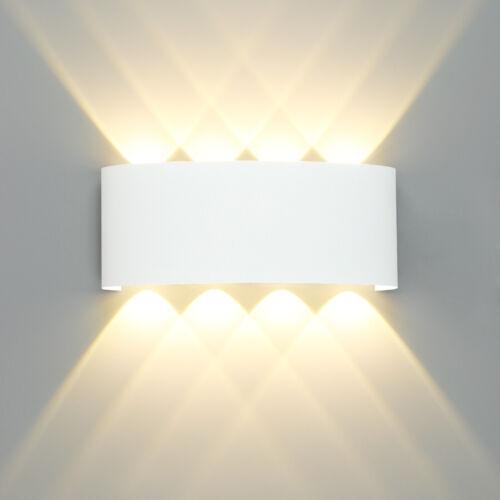 Design LED Wandlampe Außenlampe Wandleuchte Gartenlampe LED Beleuchtung Lampen