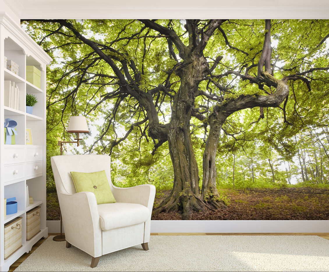 3D Extending Tree 595 WallPaper Murals Wall Print Decal Wall Deco AJ WALLPAPER