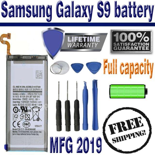 **NEW** Samsung Galaxy S9 Battery 3000mAh EB-BG960ABA SM-G960W with Tools