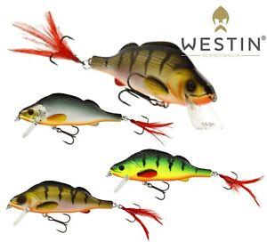 Westin-Fishing-Lures-PERCY-THE-PERCH-Crankbait-10cm-20g-Predator-Lure-Bait-Pike