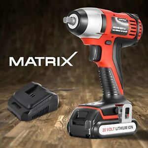 Matrix-Cordless-Impact-Wrench-20V-Power-Tool-with-1-5Ah-Lithium-Battery-Charger
