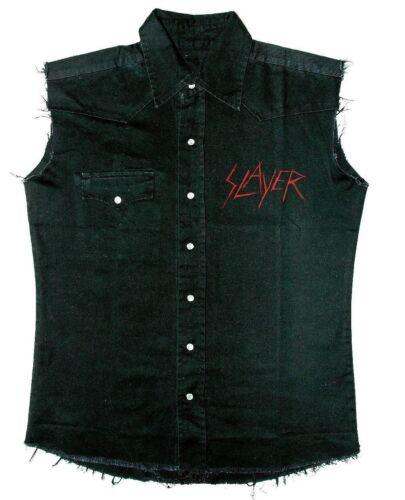 e Slayer senza da lavoro ufficiale maniche Camicia Nuova zwfYWqdIxE