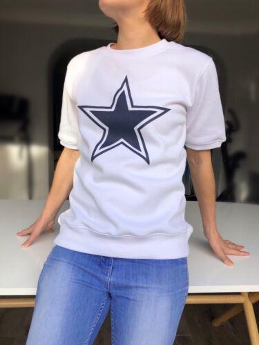 bleu marine star manches courtes SweatsofLondon.com Pour Femme Sweat-shirt