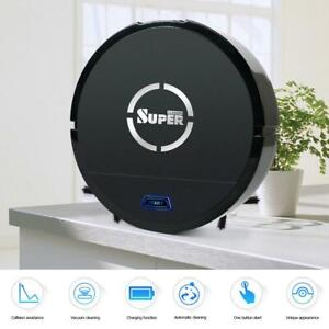Automatic-Robotic-Robot-Vacuum-Cleaner-Mop-Sweep-Floor-Recharge-USB-Battery