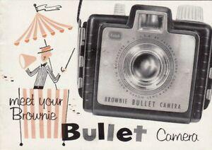 Kodak-Brownie-Bullet-Genuine-Instruction-Book-User-Manual-Guide-Instructions
