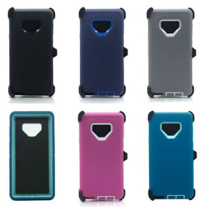promo code 8ebdc be39c Details about Lot/6 Protective Defender Case W/ Clip for Samsung Galaxy  Note 9 Wholesale