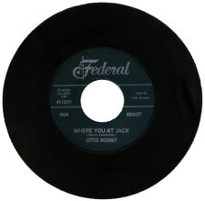 "LITTLE MUMMY  ""WHERE YOU AT JACK""  KILLER R&B MOVER     LISTEN!"