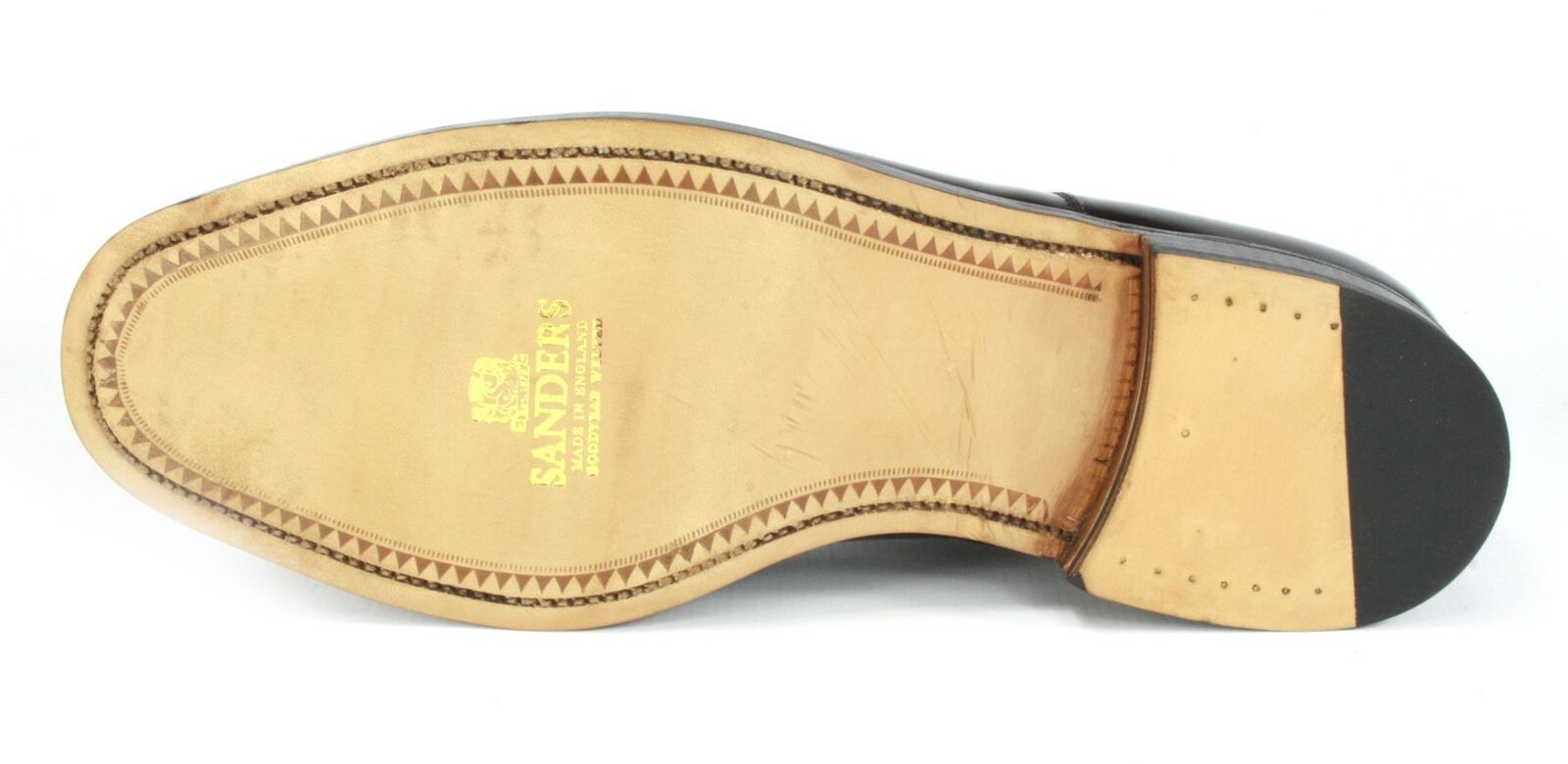 Charles Horrel Britisch Herren handgefertigt rahmengenähte Herren Britisch Leder Kappe 60352e