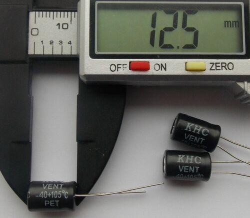 330uF 16V 105 C Radial Electrolytic Capacitor 8 x 12.5mm  ....