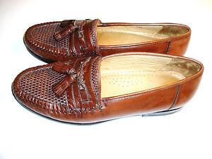 5fa3b3ed84 Men's Nordstrom Kappa 8 Brown Tassel Dress Style Loafers | eBay