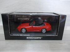 Minichamps 1/43 - Porsche 968 Cabriolet  1994  red
