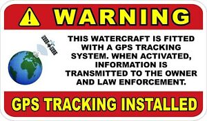 GPS-Tracking-For-Watercraft-Boats-etc-Decals-Stickers