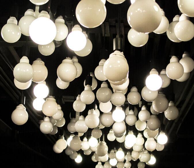 3D Mega Incandescent Bulbs3097 Wall Paper Wall Print Decal Wall Deco Indoor Wall