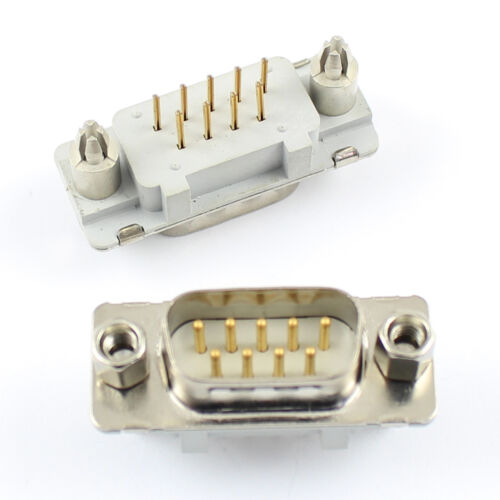 2Pcs Spectrum SCI 56-507-035 D-SUB 9 Pin Male Straight  PCB Connector