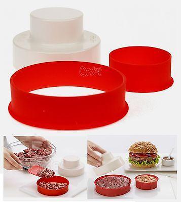 Lekue My Burger Maker Silicone Burger Pattie Press Large & Small 0202200R01M017
