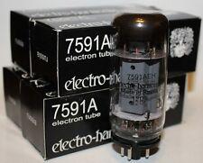 Matched Quads Electro Harmonix 7591 7591A amp tubes, NEW