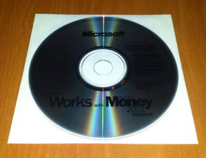 Microsoft-X05-91485-Works-with-Money-2001-Standard-6-0-Software-CD-ROM