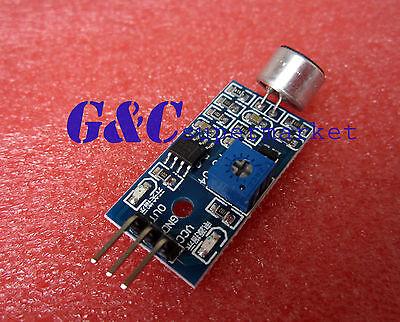 10PCS Sound detection sensor module sound sensor Intelligent vehicle Arduino M35
