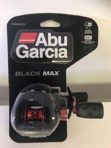 "Low Profile Graphite 26/"" Retrieve Abu Garcia Black Max Reel 6.4:1 5 Bearings"