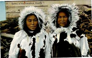 1909 ALASKA-YUKON PACIFIC EXPOSITION 3 PC'S NATIVE ALASKANS / ESKIMO WOMEN