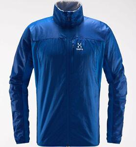 Details zu Haglöfs Summit Hybrid Jacket Men leichte Isolierjacke für Herren storm blue