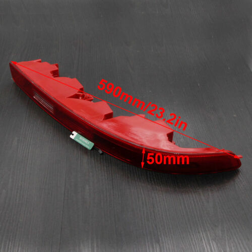 Left Side Car Lower Reflector Rear Tail Bumper Light Lamp Red For Audi Q7 2009