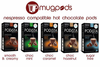 60x Nespresso Compatible Hot Chocolate Pods Multiple Flavours Ebay
