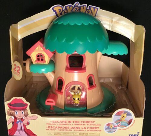 Pokemon pika-POKE petite Pals s/'échapper dans la Forêt Fée Arbre Playset PIKACHU